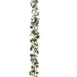 Lierre Guirlande verte 180 cm