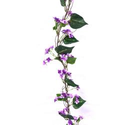 Lila Guirlande violet L 180 cm