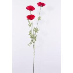 Pavot rouge 70 cm