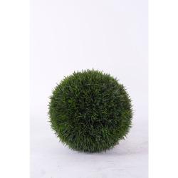 Pelouse boule vert foncé D 21 cm
