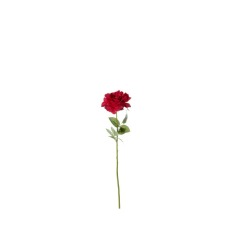 Rose double rouge 69 cm
